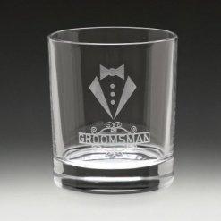 Value Whisky Circle Glass 350ml