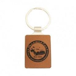Leatherette Keychain