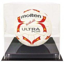 Acrylic Ball Holder Display Case Round Ball Netball