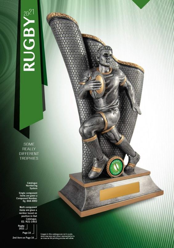 Rugby Trophies and Awards Catalogue 2021